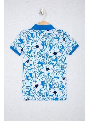 U.S. Polo Assn. U.S. Polo Assn. Kobalt Erkek Çocuk T-Shirt Mavi